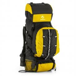 Almer Trekking-Rucksack 80l 40x80x35 cm Daypack gelb/schwarz