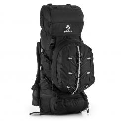 Almer Trekking-Rucksack 80l 40x80x35 cm Daypack schwarz Schwarz