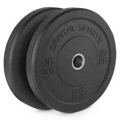 Renit Hi Temp Bumper Plates 50,4 mm Aluminiumkern Gummi 2x10kg 2x 10 kg