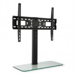 TV-Ständer Größe L Höhe 75 cm höhenverstellbar 23-55 Zoll Glasfuß 23-55 Zoll Glasfuß
