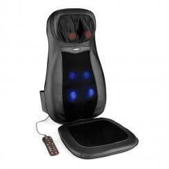 Nukuoro Massage-Sitzauflage Shiatsu-Massage 3 Massagezonen schwarz Schwarz