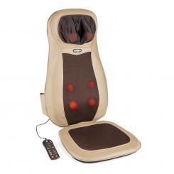 Nukuoro Massage-Sitzauflage Shiatsu-Massage 3 Massagezonen braun Braun