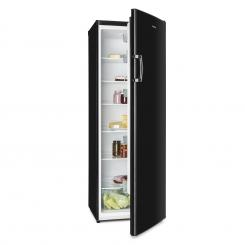Bigboy Kühlschrank 335 l 6 Etagen Energieeffizienzklasse A+ schwarz