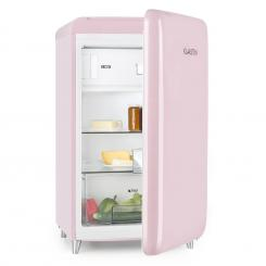 PopArt Pink Retro-Kühlschrank A++ 108 l / 13 l Gefrierfach pink Rosa
