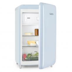 PopArt Blue Retro-Kühlschrank A++ 108 l / 13 l Gefrierfach blau Blau