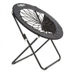 Bounco Bungee Chair Stuhl 81x41/85 cm schwarz Schwarz