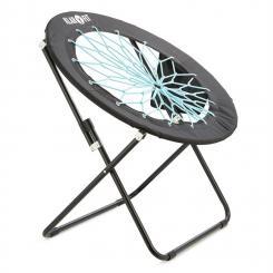 Bounco Bungee Chair Stuhl 81x41/85 cm schwarz/blau Blau
