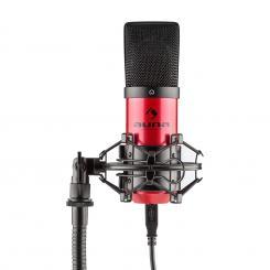 MIC-900-RD USB Kondensator Mikrofon rot Niere Studio Rot | Schwarz