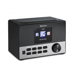 """Connect 90 BK Internetradio WLAN AUX 3,2""""-TFT USB App Control Line-Out Schwarz"""