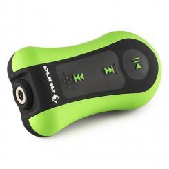 Hydro 4 MP3-Player grün 4 GB IPX-8 wasserdicht Clip inkl. Kopfhörer