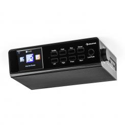 """KR-190 Internet Unterbauradio WiFi App-Steuerung 3,2"""" TFT-Display schwarz Schwarz"""
