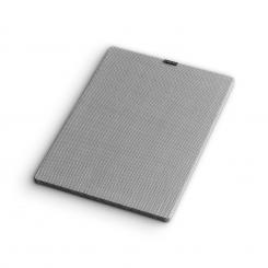 RetroSub Cover Aktiv-Subwoofer Lautsprecher-Abdeckung Paar grau Grau
