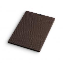 RetroSub Cover Aktiv-Subwoofer Lautsprecher-Abdeckung Paar schwarz-braun Schwarz