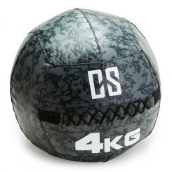 Restricamo Wall Ball Medizinball PVC 4kg Camouflage