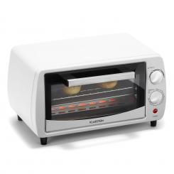 Minibreak Mini-Backofen 11l 800W 60min Timer 250°C weiß Weiß