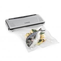 FoodLocker Slim Vakuumierer 130W 30 cm doppelte Schweißnaht 10 Beutel Slim: -0,75 bar 8 Ltr/min