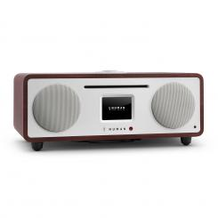 Two - 2.1 Design Internet-Radio mit CD 30W Bluetooth Spotify Connect Wenge
