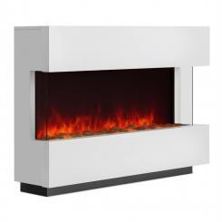 Studio-1 Elektrischer Kamin LED-Flammensimulation 750/1500 W 40m² weiß 750/1500 W