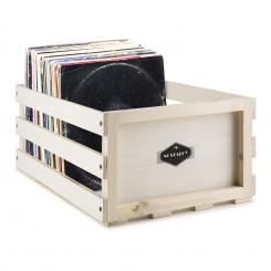 Record Box WD Schallplatten-Kiste LP-Box Multiplex-/Holz