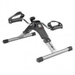 Spinmin Pro Mini Bike Arm- und Bein-Pedaltrainer Display faltbar schwarz Schwarz