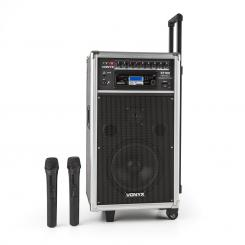 ST-100 MK2 mobiles PA-Audiosystem Bluetooth CD USB SD MP3 Akku UHF
