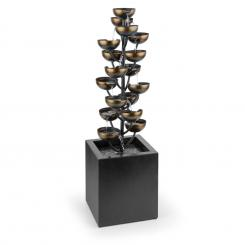 Joshua Tree Gartenbrunnen Springbrunnen Wasserspiel Pumpe 7W 10m Kabel