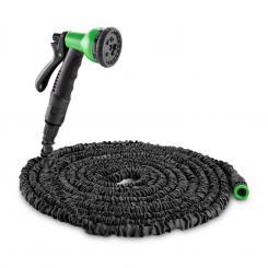 Water Wizrad 22 flexibler Gartenschlauch 8 Funktionen 22,5 m schwarz Schwarz | 22,5 m