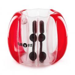 Bubball KR Bubble Ball Blasen-Fußball Kinder 75x110cm EN71P PVC rot Rot | 110 cm