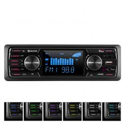 "MD-350BT Autoradio Deckless BT USB SD MP3 4x45Wmax. 3""LCD AUX Fernbedienung"