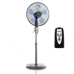 Summerjam Standventilator Standlüfter 41cm 50W 3 Stufen grau Grau