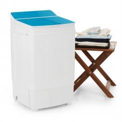 Ecowash Deluxe Waschmaschine 290W 4kg Timer Schleuderfunktion blau Blau