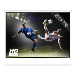 "SLS-120 Beamer Leinwand 120"" 265 x 150 cm Heimkino Projektor HDTV"