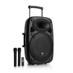 """Streetstar 15 Mobile PA-Anlage 15"""" Subwoofer Trolley BT USB/SD/MP3 UKW AUX"""