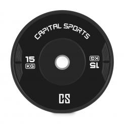 Elongate Bumper Plate Gewichtsplatte Gummi 15kg 15 kg
