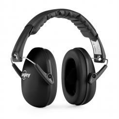Earo Kinder-Kapselgehörschutz passiv mittlere Größe schwarz