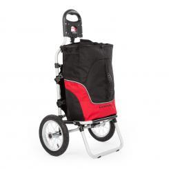 Carry Red Fahrradanhänger Handwagen max Traglast 20 kg schwarz/rot
