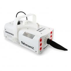 Snow 900 LED Schneemaschine 900W 3-in-1 LEDs 1L Tank Fernbedienung weiß