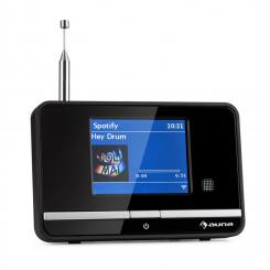 iAdapt 320 Internetradio-Adapter WLAN DAB/DAB+ UKW/MW TFT-Display Schwarz