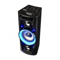UltraSonic Pulse V6-40 Party-Audiosystem Lautsprecher Akku BT USB MP3 AUX UKW Guitar LED Mikrofon
