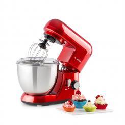 Bella Pico Mini-Küchenmaschine 550W 6 Stufen 4 Liter rot Rot
