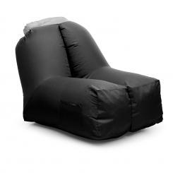 Airchair Luftsessel 80x80x100cm Rucksack waschbar Polyester schwarz