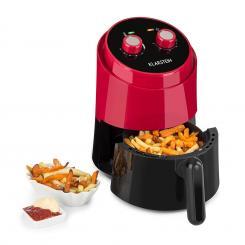 Well Air Fry Heißluftfritteuse 1230W Überhitzungsschutz 1,5L rot Rot