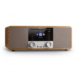 IR-190 Internetradio CD-Player WiFi UPnP USB Fernbedienung Walnuss