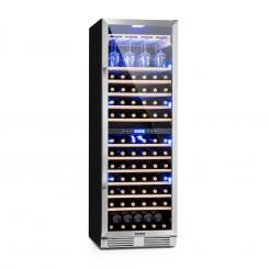 Vinovilla Grande Duo Großraum-Weinkühlschrank 425l 165Fl. 3-Farben Glastür 425 Ltr | 2 Kühlzonen