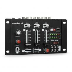 DJ-21 BT DJ-Mixer Mischpult Bluetooth USB