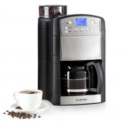 Aromatica Kaffeemaschine Mahlwerk 10 Tassen Glaskanne Aroma+ Edelstahl Edelstahl gebürstet | Glaskanne