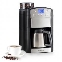 Aromatica Thermos Kaffeemaschine Mahlwerk Thermoskanne Aroma+ Edelstahl Edelstahl gebürstet | Thermoskanne
