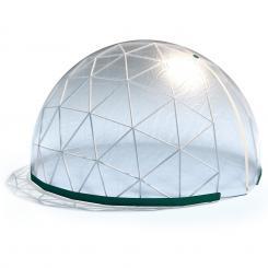 Star Dome Gewächshaus 3,6x2,2m PVC-Gestänge/Plane Transparent