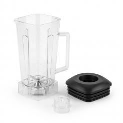 Herakles Jar Mixbecher Kunststoff durchsichtig BPA-frei schwarz