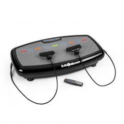 Vib 1000 Vibrationsplatte 5 Modi einstellbare Dauer & Intensität schwarz Schwarz